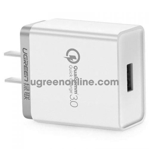 Ugreen 20839 3.0 30W Quick Charge Usb Charger Sạc Nhanh Qc3.0 White Cd122