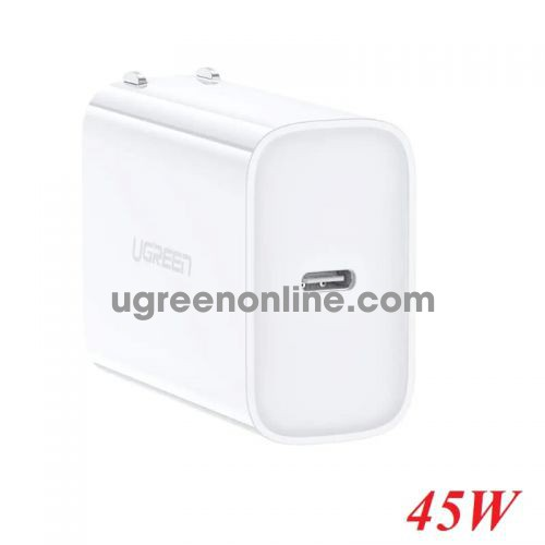 Ugreen 60463 White 45W Power Delivery USB C Fast Charger CD207 10060463