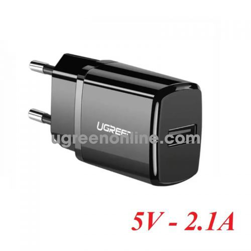 Ugreen 50459 Black 2.1A USB Wall Charger ED011 10050459