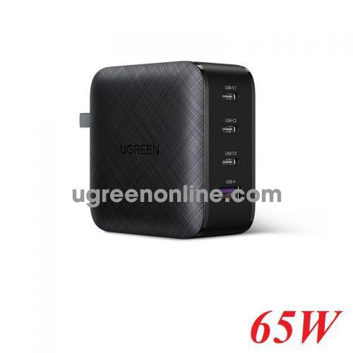 Ugreen 70773 Black 65W 4 Port 3C1A PD GaN Charger CD224 10070773