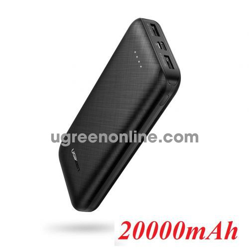 Ugreen 60878 10000mAh Black Dual Port Power Bank 60878 10060878