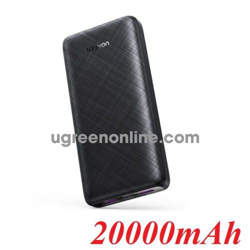 Ugreen 80597 10000mAh Black two-way fast charging power bank PB175 10080597