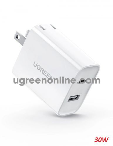 Ugreen 60467 30W 2 Port USB type C Wall Charger CD170 10060467