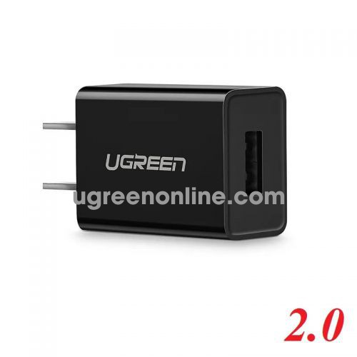 Ugreen 50713 Black USB 2.0 Charging Adapter 5V-1A CD112
