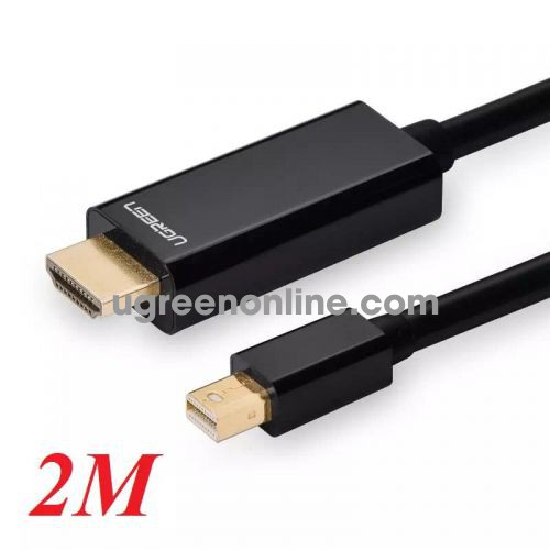 Ugreen 10435 2m mini dp male to hdmi cable cáp MD101