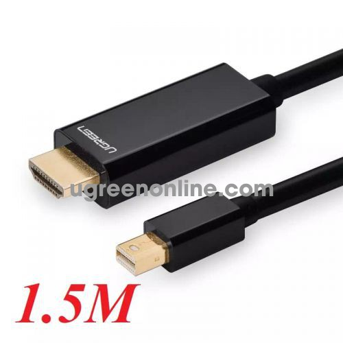 Ugreen 10450 1.5m mini dp male to hdmi cable cáp MD101