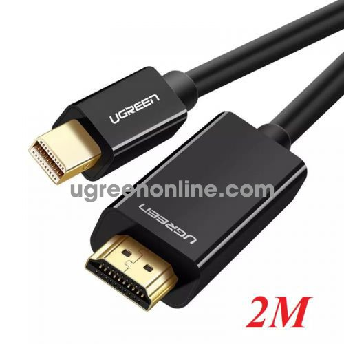 Ugreen 10454 2m mini dp male to hdmi cable cáp MD101