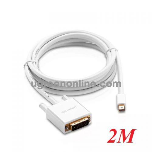 Ugreen 10405 2m Mini dp to DVI converter đầu chuyển đổi cable cáp Support 1920*1080 MD102