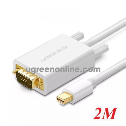 Ugreen 10406 2m Mini DP to VGA converter đầu chuyển đổi MD103