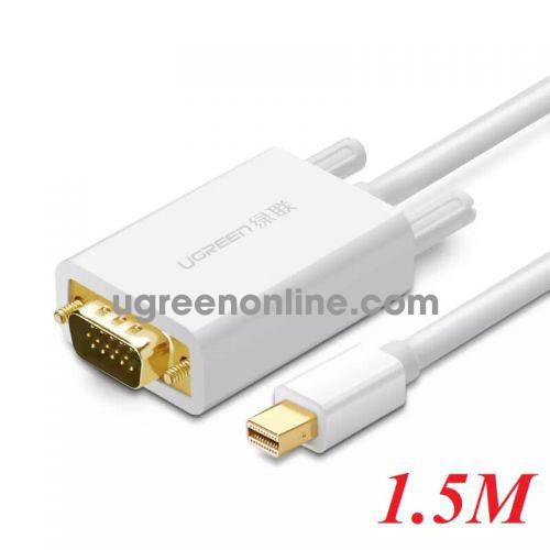 Ugreen 10410 1.5m Mini DP to VGA converter đầu chuyển đổi MD103