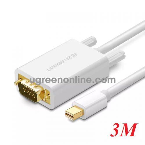 Ugreen 10444 3m Mini DP to VGA converter đầu chuyển đổi MD103