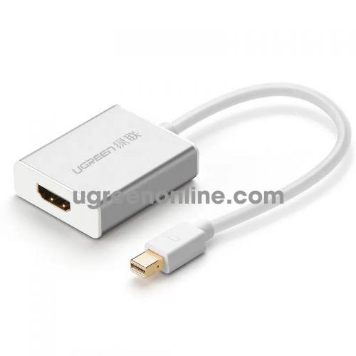 Ugreen 10401 mini dp male to HDMI female converter đầu chuyển đổi cable cápAluminum case MD110 10010401