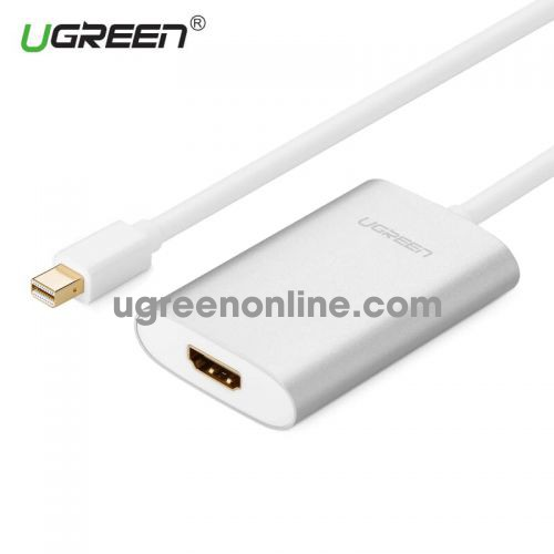 Ugreen 10451 60cm mini dp male to HDMI female converter đầu chuyển đổi cable cápAluminum case Support 4K*2K resolution MD110