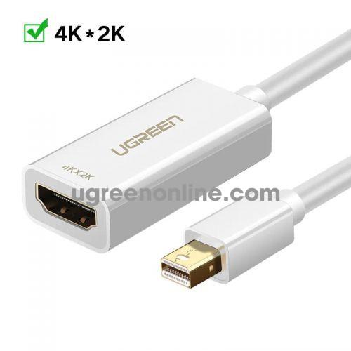 Ugreen 40361 25cm Mini dp to HDMI female converter đầu chuyển đổi cable cáp Support 4K*2K/30Hz MD112 10040361