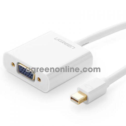 Ugreen 10458 Mini Display Port to VGA converter đầu chuyển đổi ABS 58 MD113 10010458
