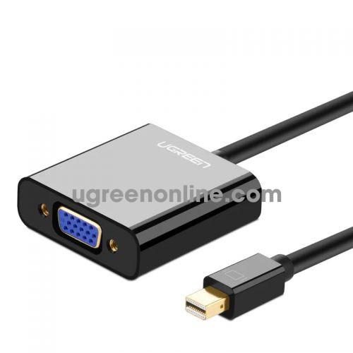 Ugreen 10459 Mini Display Port to VGA converter đầu chuyển đổi ABS 59 MD113 10010459