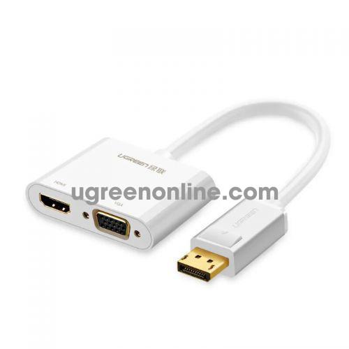 Ugreen 40366 DisplayPort to HDMI & VGA converter đầu chuyển đổi 66 MM138 10040366