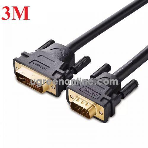 Ugreen 11618 Cáp chuyển đổi DVI 24+5dương sang VGA dương dài 3m DVI24+5 male to VGA male cable DV102