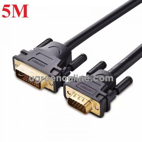 Ugreen 11678 Cáp chuyển đổi DVI 24+5dương sang VGA dương dài 5m DVI24+5 male to VGA male cable DV102