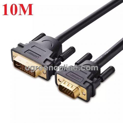 Ugreen 11680 Cáp chuyển đổi DVI 24+5dương sang VGA dương dài 10m DVI24+5 male to VGA male cable DV102