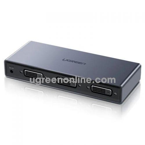 Ugreen 50746 DVI 24+1 Splitter Bộ chia 1 ra 2 1920x1080P 60HZ Màu Đen CM202 10050746