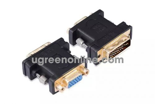 Ugreen 20122 DVI 24+5 To VGA Female Adapter Gold Connector Converter 20122 10020122