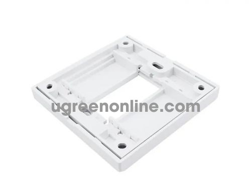 Ugreen 20316 Wall Plate HDMI Panel Frame Socket 86 Module Mặt Nạ Đế Âm Full Hd