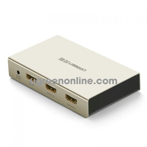 Ugreen 40276 Hdmi 1*2 Amplifier Splitter Zinc Alloy Case 40276