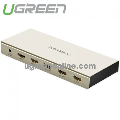 Ugreen 40277 Hdmi 1*4 Amplifier Splitter Zinc Alloy Case 40277