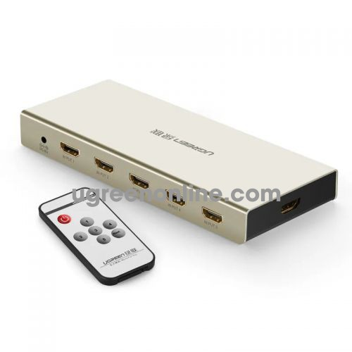 Ugreen 40279 Hdmi 5*1 Switch Zinc Alloy Case 40279