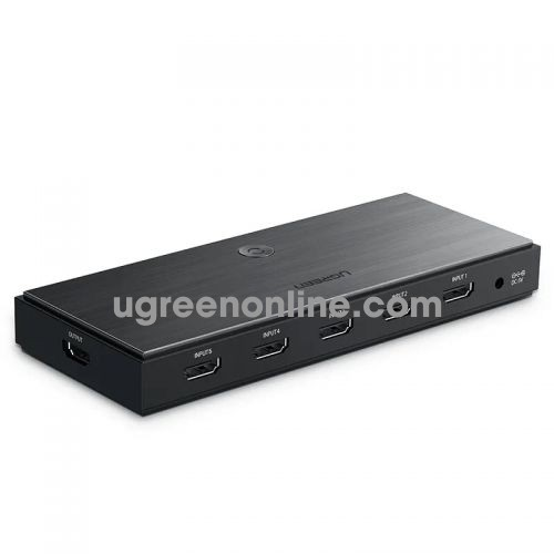 Ugreen 50710 hdmi 2.0 5*1 switcher black cm189