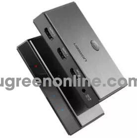 Ugreen 50707 Hdmi 2.0 1*2 Splitter Cm186
