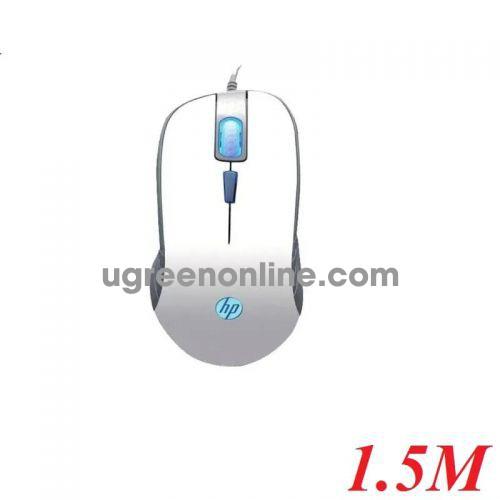 Hp G100trắng 1.8M Màu Trắng 2000 Dpi 4 Nút Mouse Led Usb Siêu Bền 20 Triệu Lần Bấm - 97302