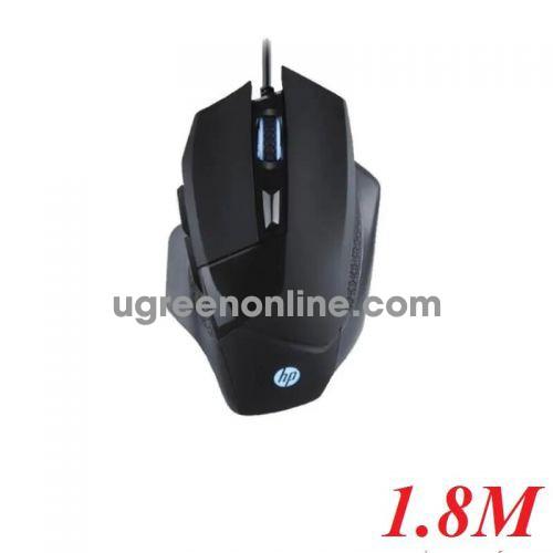 Hp G200 1.8M 6 Nút Siêu Bền 20 Triệu Lần Bấm Mouse Đen Led Usb - 98743