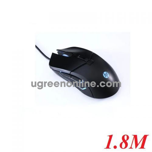 Hp G260 1.8M 5000 Dpi 6 Nút Mouse Đen Led Usb Tuổi Thọ 5 Triệu Lần Bấm - 97896