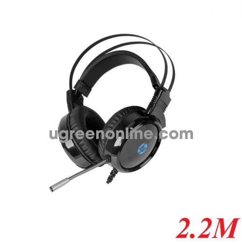 Hp H120 Headphone Usb + 3.5Mm Âm Thanh Stereo Có Đèn Led - 96816