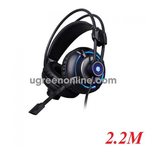 Hp H300 Usb + 3.5Mm Wired Led 4D Stereo Gaming Headphone Headset With Microphone - 97507 10097507