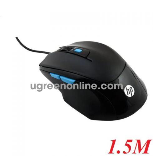 Hp M150 1.5M 6 Nút Bấm 1600 Dpi Mouse Usb Màu Đen Led Tuổi Thọ 5 Triệu Lần Bấm - 98211