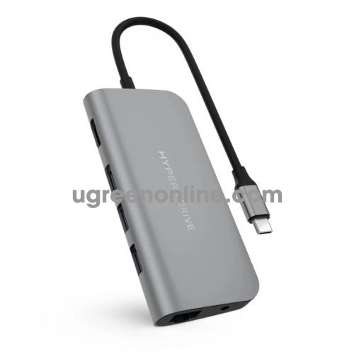 HYPER HD30F-GREY Cổng chuyển Hyperdrive Power 9in1 USB C Hub 95180