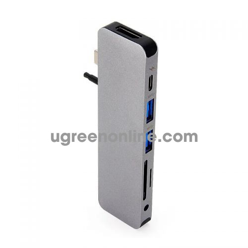 HYPER GN21D-GREY Cổng chuyển HyperDrive SOLO 7 in 1 USB Type C Hub 95638