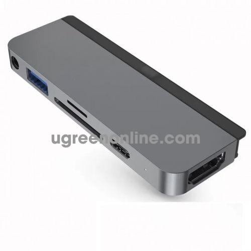 HYPER HD319A-GRAY Cổng chuyển chuyên dụng HyperDrive USB-C Hub for iPad Pro 96575
