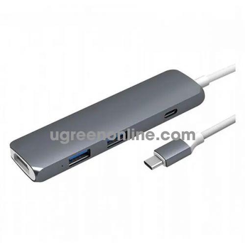 HYPER GN22B-GRAY Cổng chuyển HyperDrive USB Type-C Hub with 4K HDMI 96949
