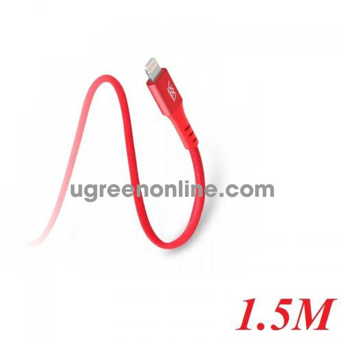 INNOSTYLE D_ICL150_ RED 1.5M RED Cáp Sạc Nhanh Innostyle Duraflex 18w usb type c To Lightning Mfi Iphone Ipad Ipod 97059 10097059