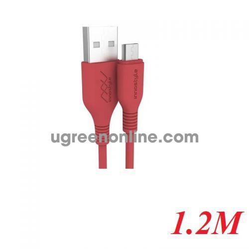 INNOSTYLE J_IAB120_tOR 1.2M 10W Màu Cam Cáp Innostyle Jazzy Usb A To Micro Usb 98096