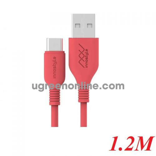 INNOSTYLE J_IAC120_tOR 1.2M 15W Màu Cam Cáp Innostyle Jazzy Usb A To usb type c 96519