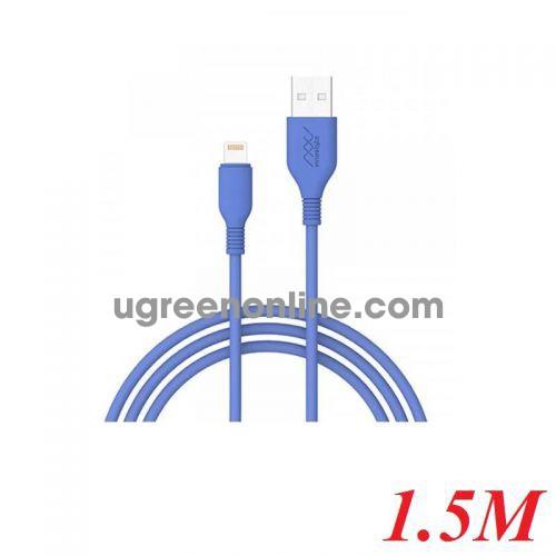 INNOSTYLE J_IAL150_ tLBL 1.5M Màu xanh dương Cobalt Cáp Innostyle Jazzy Usb A To Lightning Mfi Iphone Ipad Ipod 95184