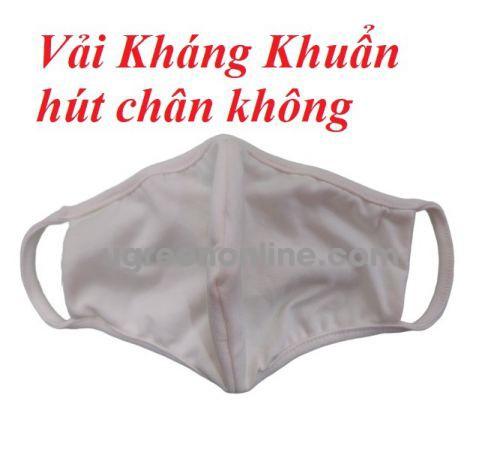 GBP 86557 màu trắng 1 chiếc khẩu trang vải kháng khuẩn . hút chân không có thể giặt nhẹ được 20 lần. chống tia UV. chống thấm nước bọt và dịch từ bên ngoài. chất lượng nhật bản KT2LV GKOL 86557 10086557