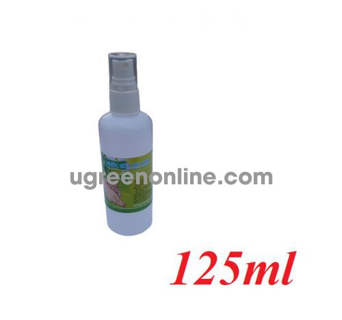 PM 87206 chai xịt chứa 125ml cồn 70 độ nước rửa tay khô diệt khuẩn dùng cho y tế và gia đình GKOL 87206 10087206