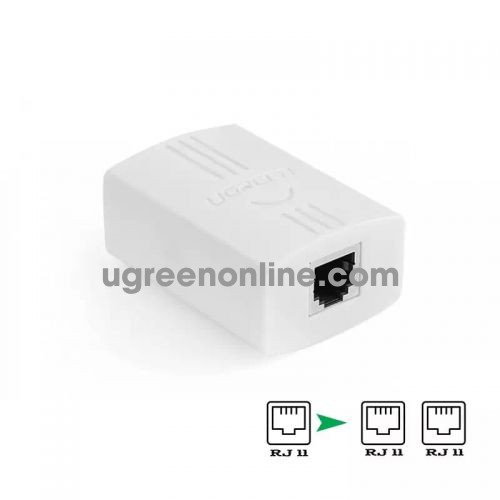 Ugreen 20351 Rj11 Splitter Connector 1 To 2 20351