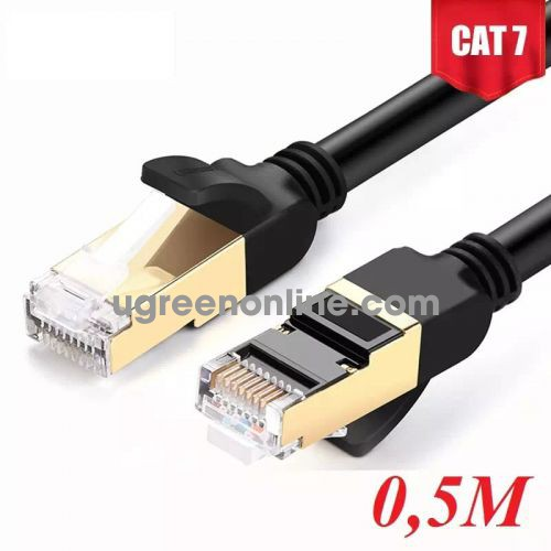 Ugreen 11229 Cat 7 Stp Lan Cable 0.5M Nw107